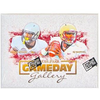 2013 Press Pass Gameday Gallery Football Hobby Box