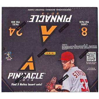 2013 Panini Pinnacle Baseball 24-Pack Box (One Autograph Card Per Box)!