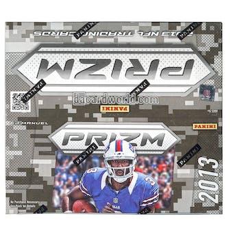 2013 Panini Prizm Football 24-Pack Box