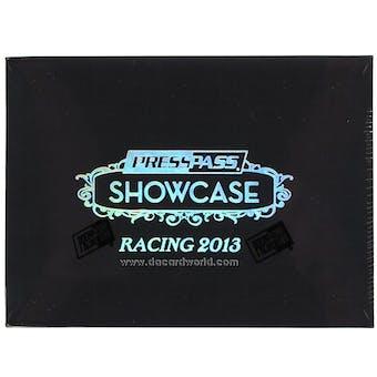 2013 Press Pass Showcase Racing Hobby Box