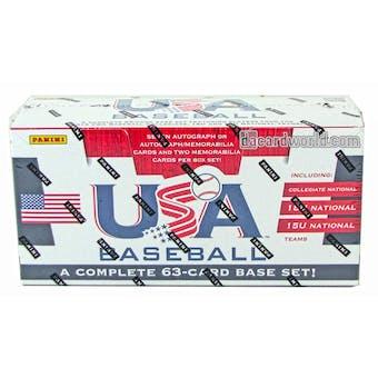 2013 Panini USA Baseball Hobby Box (Set)