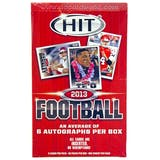 2013 Sage Hit Low Series Football Hobby Box