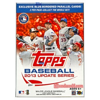 2013 Topps Update Baseball 10-Pack Box