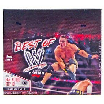 2013 Topps WWE Best Of Wrestling Hobby Box