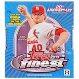 2013 Topps Finest Baseball Hobby Box