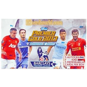 2013 Topps English Premier League Gold Soccer Hobby Box