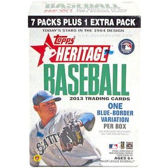 2013 Topps Heritage Baseball 8-Pack Blaster Box