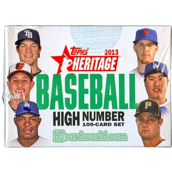 2013 Topps Heritage High Number Baseball Hobby Box (Set)