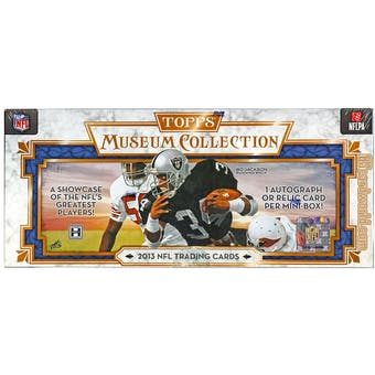 2013 Topps Museum Collection Football Hobby Box