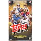 2013 Topps Mini Cards Football Hobby Box