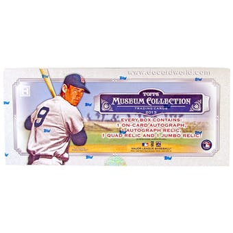 2013 Topps Museum Collection Baseball Hobby Box