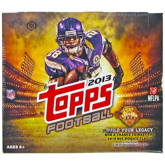 2013 Topps Football Jumbo Box