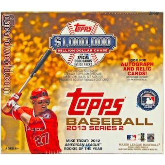 2013 Topps Series 2 Baseball Blaster Box