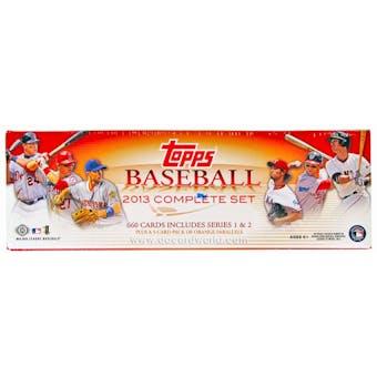 2013 Topps Factory Set Baseball Hobby (Box)