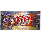 2013 Topps Football Retail Factory Set (Box)