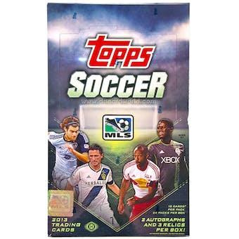 2013 Topps MLS Major League Soccer Hobby Box