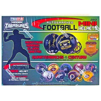 2013 TriStar Hidden Treasures Autographed Mini-Helmet Football Hobby Box