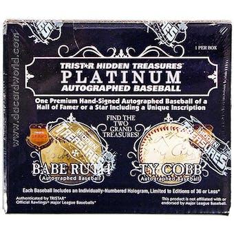 2013 TriStar Hidden Treasures Platinum Baseball Hobby Box