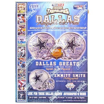 2013 TriStar Autographed 8x10 Dallas Edition Football Hobby Box (10 Photos)