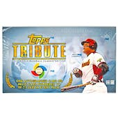 2013 Topps Tribute Baseball WBC Edition Hobby Box