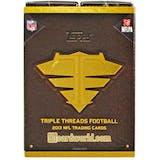 2013 Topps Triple Threads Football Hobby Box