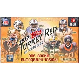 2013 Topps Turkey Red Football Box