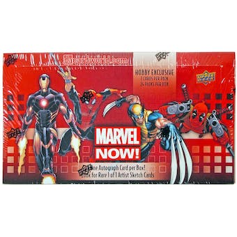 Marvel NOW! Trading Cards Hobby Box (Upper Deck 2014)