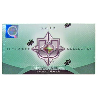 2013 Upper Deck Ultimate Collection Football Hobby Box