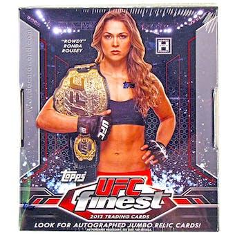 2013 Topps UFC Finest Hobby Box