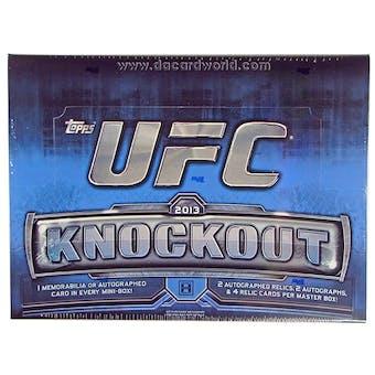 2013 Topps UFC Knockout Hobby Box