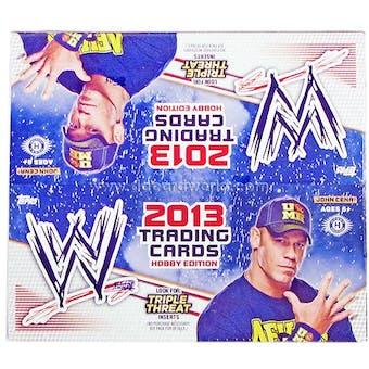 2013 Topps WWE Triple Threat Wrestling Hobby Box