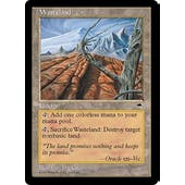 Magic the Gathering Tempest Single Wasteland - HEAVY PLAY (HP)