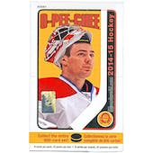 2014/15 Upper Deck O-Pee-Chee Hockey Hobby Box
