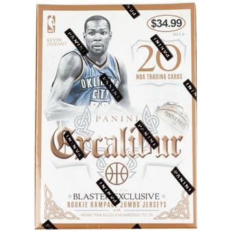 2014/15 Panini Excalibur Basketball Blaster Box (1 Autograph or Memorabilia Card Per Box!)