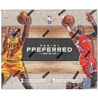 2014/15 Panini Preferred Basketball Hobby Box
