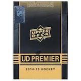 2014/15 Upper Deck Premier Hockey Hobby Box (Tin)