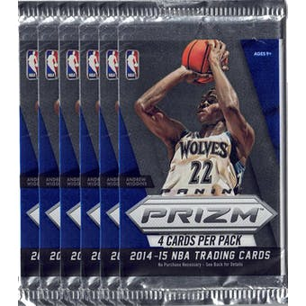 2014/15 Panini Prizm Basketball Blaster Pack (Lot of 6) = 1 Blaster Box