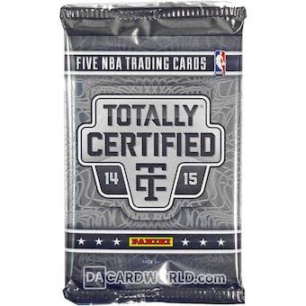 2014/15 Panini Totally Certified Basketball Hobby Pack