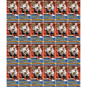 2014/15 Upper Deck Series 1 Hockey Retail Pack (Lot of 24)