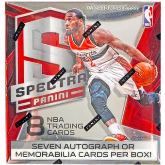 2014/15 Panini Spectra Basketball Hobby Box