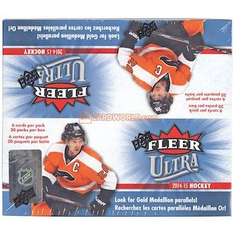 2014/15 Upper Deck Fleer Ultra Hockey 20-Pack Box