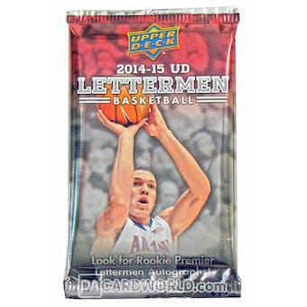 2014/15 Upper Deck Lettermen Basketball Hobby Pack
