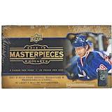 2014/15 Upper Deck Masterpieces Hockey Hobby Box