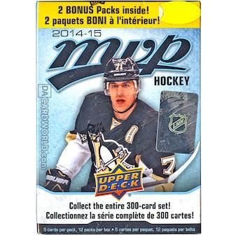 2014/15 Upper Deck MVP Hockey 12-Pack Box