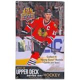 2014/15 Upper Deck Series 1 Hockey Hobby Box