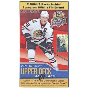 2014/15 Upper Deck Series 1 Hockey 12-Pack Box