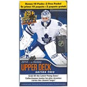 2014/15 Upper Deck Series 2 Hockey 12-Pack Box