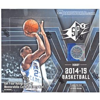 2014/15 Upper Deck SPx Basketball Hobby Box