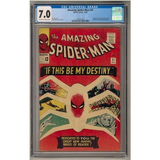 Amazing Spider-Man #31 CGC 7.0 (OW-W) *1418161018*