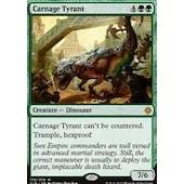 Magic the Gathering Ixalan Single Carnage Tyrant - SLIGHT PLAY (SP)